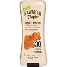 Hawaiian+tropic+sheer+touch+sunscreen+lotion+spf+30