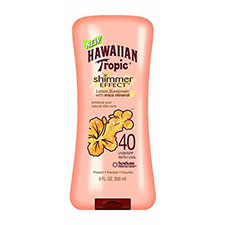 Hawaiian+tropic+shimmer+effect+lotion+sunscreen+with+mica+minerals+broad+spectrum+spf+40