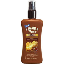Hawaiian+tropic+touch+of+color+pump+lotion+spf15