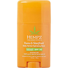 Hempz+yuzu+%26+starfruit+daily+herbal+hydrating+stick+broad+spectrum+spf+30