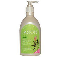 Jason+natural+moisturizing+herbs+pure+natural+hand+soap