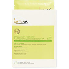 Karuna+single+exfoliating%2b+foot+mask