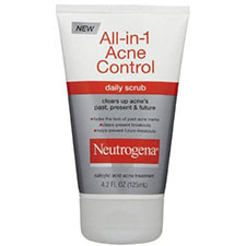 Neutrogena+all in 1+acne+control+daily+scrub