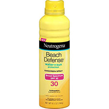 Neutrogena+beach+defense+sunscreen+spray+spf+30