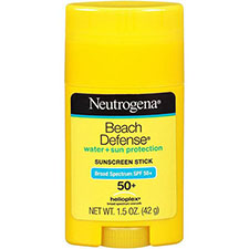 Neutrogena+beach+defense+water+%2b+sun+barrier+stick+sunscreen+broad+spectrum+spf+50%2b