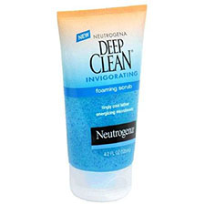 Neutrogena+deep+clean+invigorating+foaming+scrub