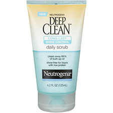 Neutrogena+deep+clean+long+lasting+shine+control+scrub