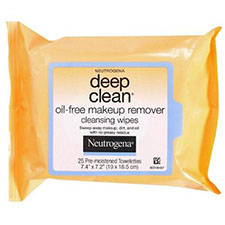 Neutrogena+deep+clean+oil free+makeup+remover+cleansing+wipes