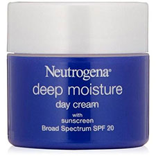 Neutrogena+deep+moisture+day+cream+with+sunscreen+broad+spectrum+spf+20