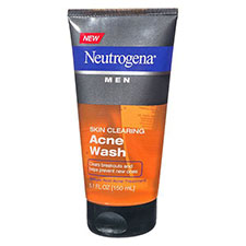 Neutrogena+men+men+skin+clearing+acne+wash