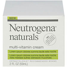 Neutrogena+naturals+multi vitamin+cream