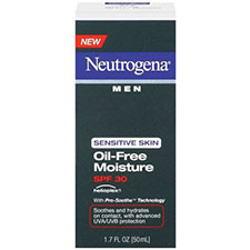 Neutrogena+neutrogena+men+sensitive+skin+oil free+moisture+spf+30