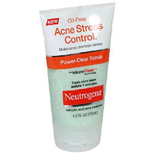 Neutrogena+oil free+acne+stress+control+power clear+scrub