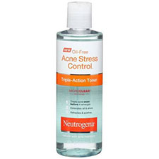 Neutrogena+oil free+acne+stress+control+triple action+toner