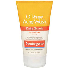 Neutrogena+oil free+acne+wash+daily+scrub