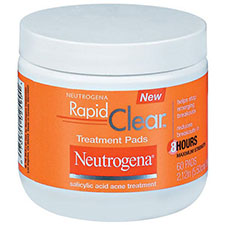 Neutrogena+rapid+clear+daily+pads