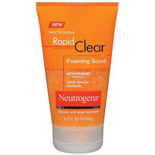Neutrogena+rapid+clear+foaming+scrub