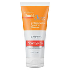 Neutrogena+rapid+clear+oil eliminating+foaming+cleanser