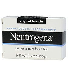Neutrogena+transparent+facial+bar%2c+face+wash+%26+cleanser+original