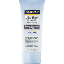 Neutrogena+ultra+sheer+dry touch+sunblock+spf+85