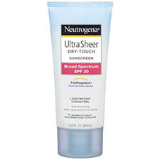 Neutrogena+ultra+sheer+dry touch+sunscreen+spf+30