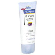 Neutrogena+ultra+sheer+dry touch+sunscreen+spf+55