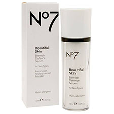 No7+beautiful+skin+blemish+defense+serum