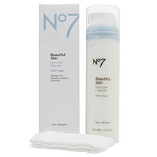 No7+beautiful+skin+hot+cloth+cleanser