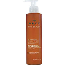 Nuxe+rve+de+miel+facial+cleansing+and+make up+remover+gel