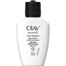 Olay+age+defying+anti wrinkle+day+lotion+spf+15