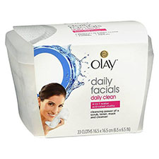 Olay+daily+facials+daily+clean+4 in 1+water+activated+cleansing+cloths