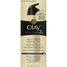 Olay+total+effects+7 in 1+night+pore+perfector+moisturizer