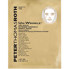 Peter+thomas+roth+un wrinkle+24k+gold+intense+wrinkle+sheet+mask