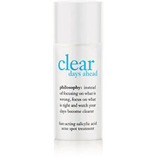 Philosophy+clear+days+ahead+acne+spot+treatment