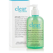 Philosophy+clear+days+ahead+acne+treatment+cleanser