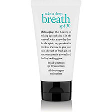 Philosophy+take+a+deep+breath+spf+30+gel+cream