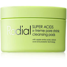 Rodial+super+acids+x treme+pore+shrink+cleansing+pads