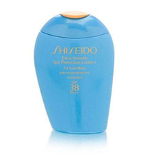 Shiseido+extra+smooth+sun+protection+lotion+for+face+%26+body+spf+38+pa%2b%2b%2b