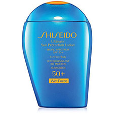 Shiseido+ultimate+sun+protection+lotion+broad+spectrum+spf+50%2b+wetforce