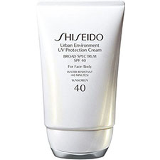 Shiseido+urban+environment+uv+protection+cream+broad+spectrum+spf+40