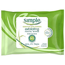 Simple+exfoliating+facial+wipes