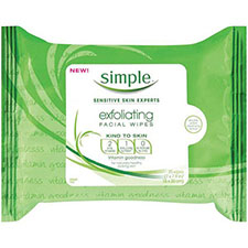 Simple+kind+to+skin+exfoliating+wipes