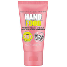 Soap+%26+glory+hand+food+non greasy+hydrating+hand+cream+travel+size
