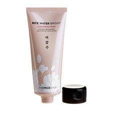 The+face+shop+rice+water+bright+cleansing+foam+300ml