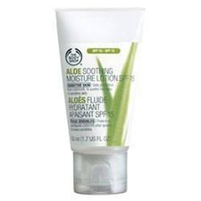 The+body+shop+aloe+soothing+moisture+lotion+spf+15%2c+for+sensitive+skin