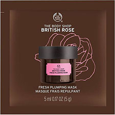 The+body+shop+british+rose+fresh+plumping+mask+sachet