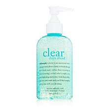 Philosophy+clear+days+ahead+oil free+salicylic+acid+acne+treatment+cleanser