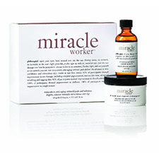 Philosophy+miracle+worker+miraculous+anti aging+retinoid+pads+and+solution