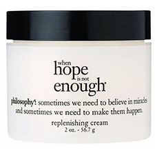 Philosophy+when+hope+is+not+enough+replenishing+cream