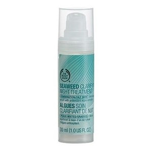 The body shop seaweed clarifying night treatment for combination oily skin
